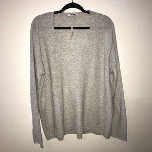 Madewell Kimball Sweater BNWT XXL Heather Fog Gray